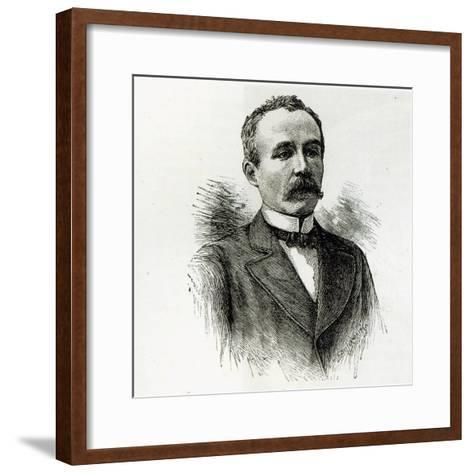 M. Clemenceau, from 'Leisure Hour', 1891--Framed Art Print