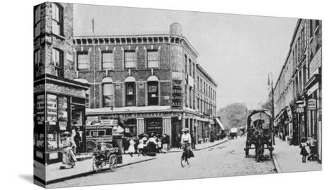 Barn Tavern, Highbury, C.1900-English Photographer-Stretched Canvas Print