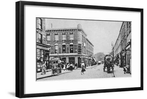 Barn Tavern, Highbury, C.1900-English Photographer-Framed Art Print