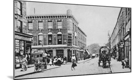 Barn Tavern, Highbury, C.1900-English Photographer-Mounted Giclee Print