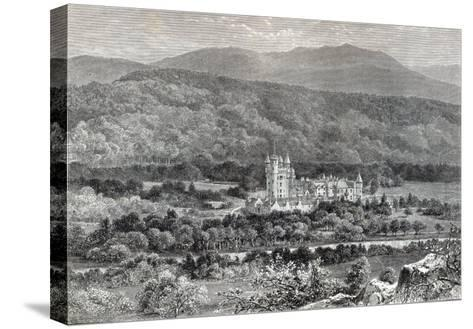 Balmoral, from 'Leisure Hour', 1888--Stretched Canvas Print