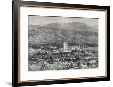 Balmoral, from 'Leisure Hour', 1888--Framed Art Print