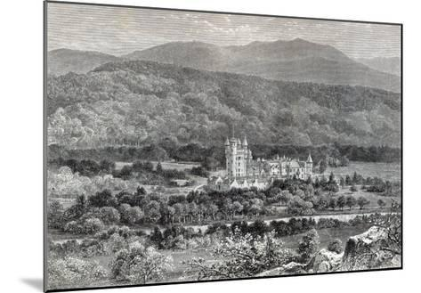 Balmoral, from 'Leisure Hour', 1888--Mounted Giclee Print