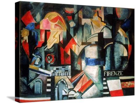 Firenze-Alexandra Exter-Stretched Canvas Print