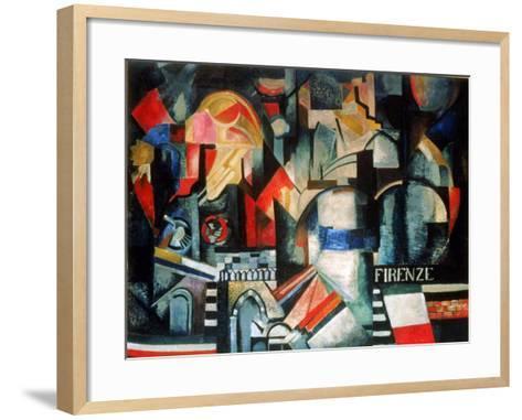 Firenze-Alexandra Exter-Framed Art Print