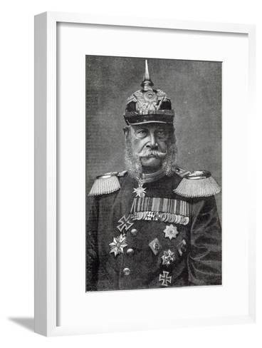 The Kaiser Wilhelm, from 'Leisure Hour', 1888--Framed Art Print