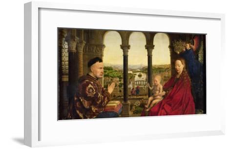 The Rolin Madonna-Jan van Eyck-Framed Art Print