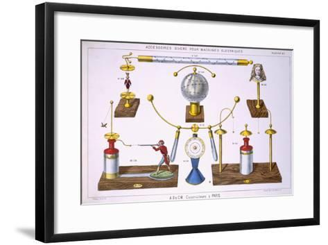 Various Accessories for Electrical Machines--Framed Art Print