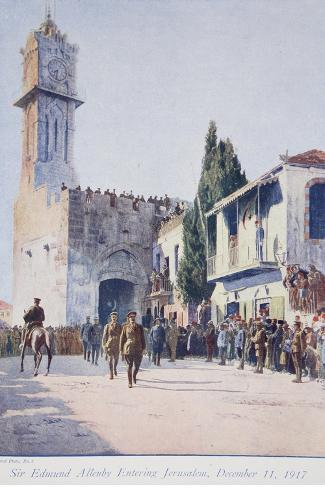 The Deliverers of Jersualem: Sir Edmund Allenby's Historic Entry into the Holy City, 1914-19--Stretched Canvas Print