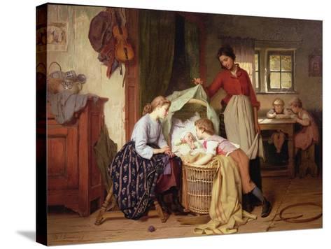 The Newborn Child-Theodore Gerard-Stretched Canvas Print
