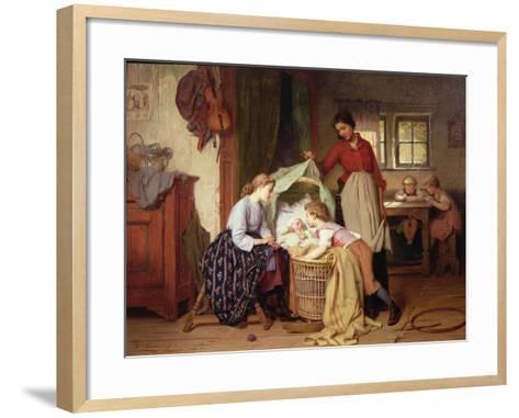 The Newborn Child-Theodore Gerard-Framed Art Print