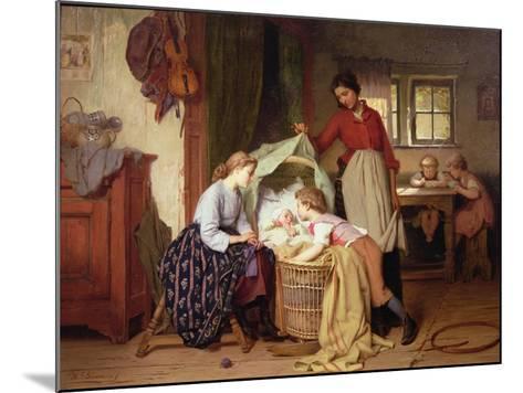 The Newborn Child-Theodore Gerard-Mounted Giclee Print