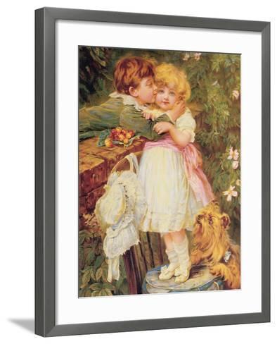 Over the Garden Wall-Frederick Morgan-Framed Art Print