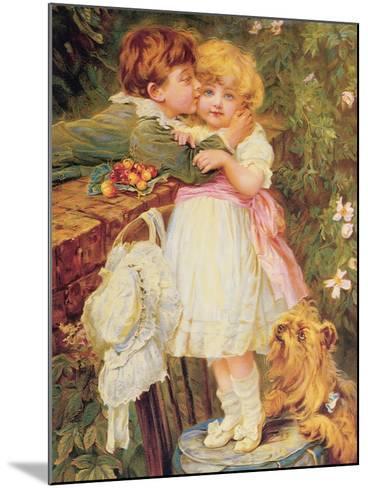 Over the Garden Wall-Frederick Morgan-Mounted Giclee Print