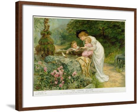 The Coming Nelson, from the Pears Annual, 1901-Frederick Morgan-Framed Art Print