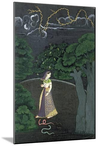 A Lady on her Way to a Tryst, c.1760--Mounted Giclee Print