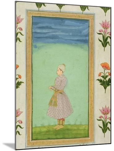 Standing Figure of a Boy with a Jewelled Dagger in his Sash, from the Small Clive Album--Mounted Giclee Print