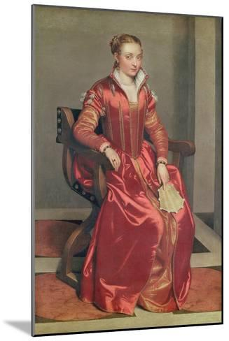 Portrait of a Lady, c.1555-60-Giovanni Battista Moroni-Mounted Giclee Print