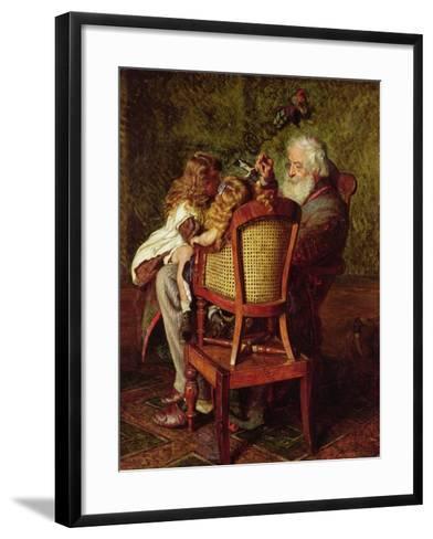 Grandfather's Jack-in-the-Box-Arthur Boyd Houghton-Framed Art Print