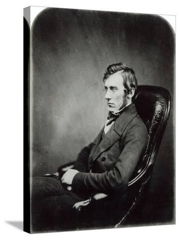 Sir John Dalton Hooker, c.1855- Maull-Stretched Canvas Print