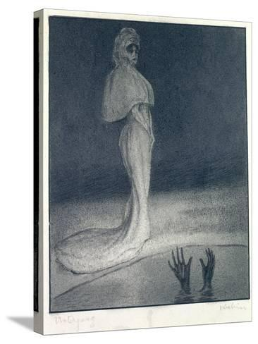 The Downfall, 1903-Alfred Kubin-Stretched Canvas Print