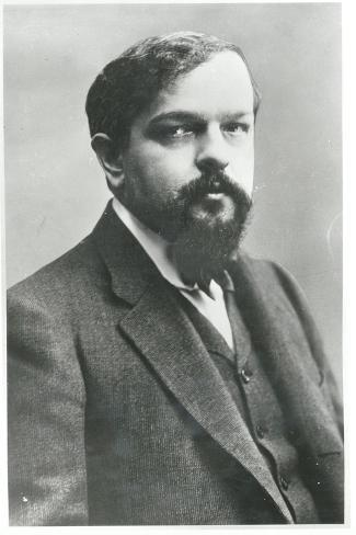 Claude Debussy-Paul Nadar-Stretched Canvas Print