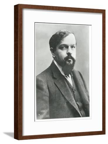 Claude Debussy-Paul Nadar-Framed Art Print