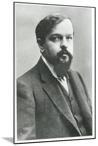 Claude Debussy-Paul Nadar-Mounted Giclee Print