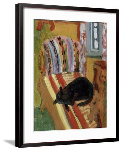 The Living Room, 1920-Ernst Ludwig Kirchner-Framed Art Print