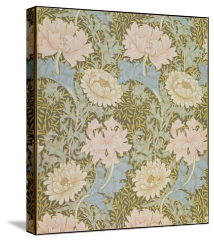 Chrysanthemum' Wallpaper, 1876-William Morris-Stretched Canvas Print