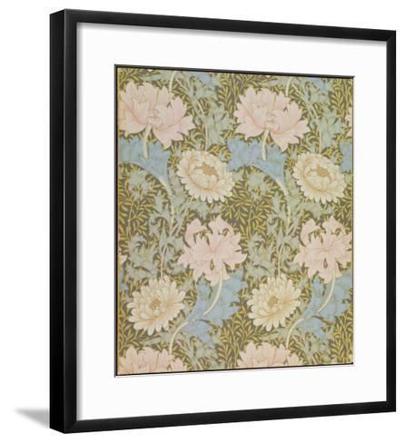 Chrysanthemum' Wallpaper, 1876-William Morris-Framed Art Print