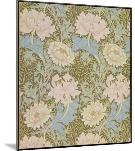 Chrysanthemum' Wallpaper, 1876-William Morris-Mounted Giclee Print