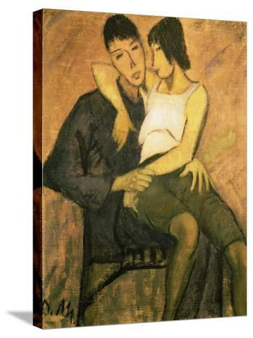 Urbanite Couple, 1920-Otto Mueller-Stretched Canvas Print