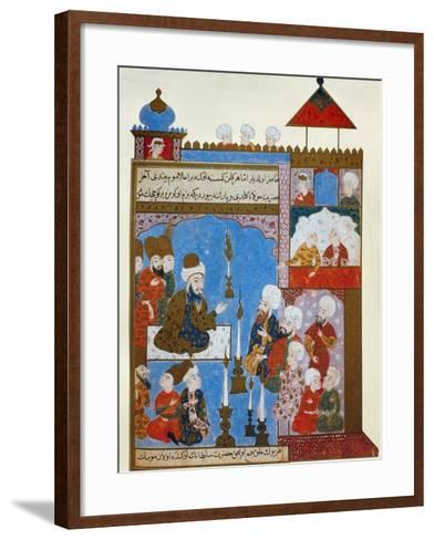 Rumi's Candle is Still Lit, late 16th century--Framed Art Print