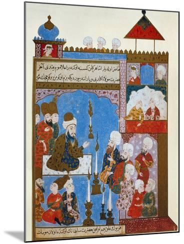 Rumi's Candle is Still Lit, late 16th century--Mounted Giclee Print