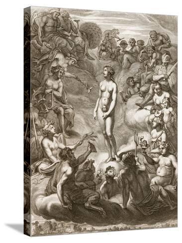 Pandora's Box, 1730-Bernard Picart-Stretched Canvas Print