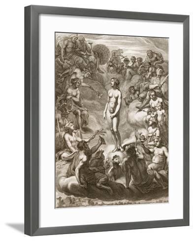 Pandora's Box, 1730-Bernard Picart-Framed Art Print