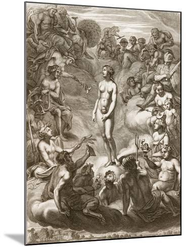 Pandora's Box, 1730-Bernard Picart-Mounted Giclee Print