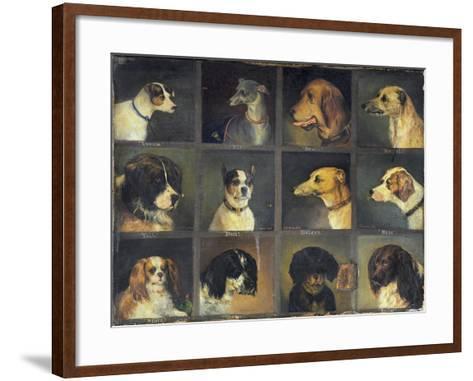Twelve Favourite Dogs, 1883-Edwin Frederick Holt-Framed Art Print
