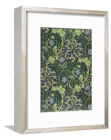Seaweed Wallpaper Design, printed by John Henry Dearle-William Morris-Framed Art Print