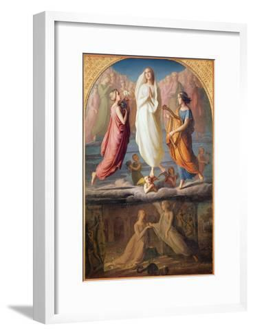 The Assumption of the Virgin, 1844-Louis Janmot-Framed Art Print