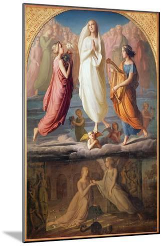 The Assumption of the Virgin, 1844-Louis Janmot-Mounted Giclee Print