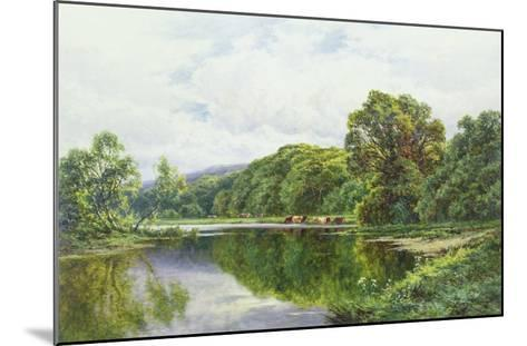 The Thames Near Henley-Henry Parker-Mounted Giclee Print