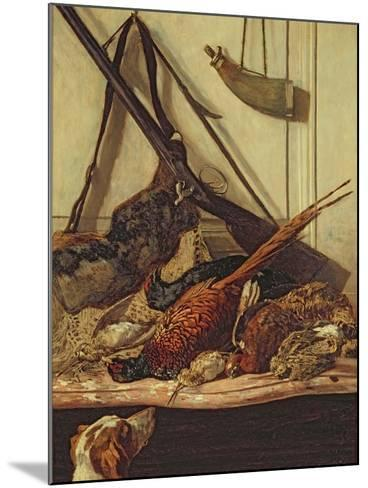 Hunting Trophies, 1862-Claude Monet-Mounted Giclee Print