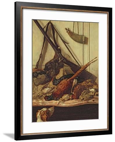 Hunting Trophies, 1862-Claude Monet-Framed Art Print