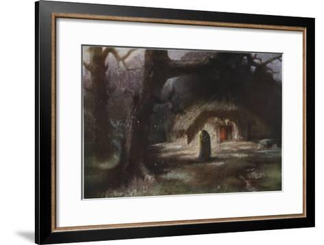 The Two Were Reunited in a Fond Embrace, 1906-Hermann Hendrich-Framed Art Print