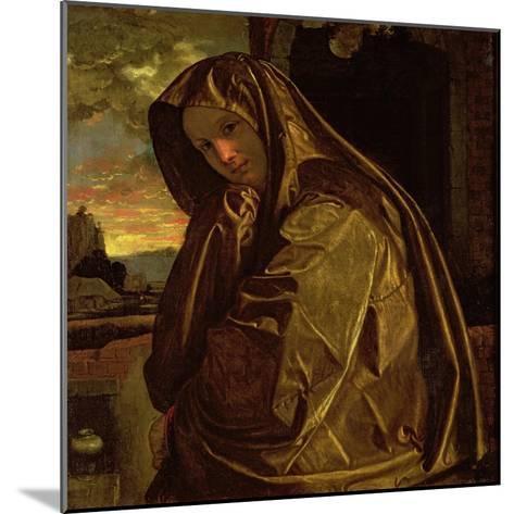 St. Mary Magdalene-Giovanni Girolamo Savoldo-Mounted Giclee Print
