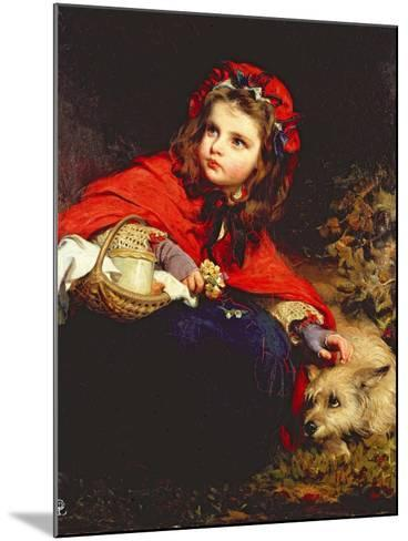 Little Red Riding Hood-James Sant-Mounted Giclee Print