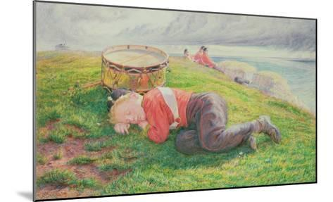 The Drummer Boy's Dream-Frederic James Shields-Mounted Giclee Print