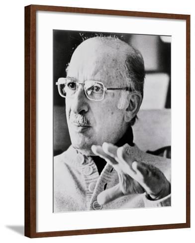 Bernard Malamud--Framed Art Print
